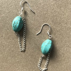 Turquoise Featured Earring