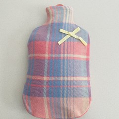 Hot Water Bottle Cover | Australian Wool | Soft Pink