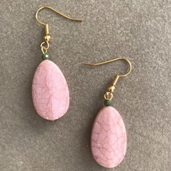 Coral Featured Earring
