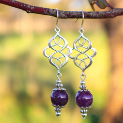 Amethyst Catherine Earrings