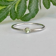 Peridot birthstone  ring