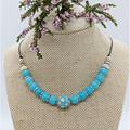 Turquoise Cream Necklace