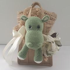 Green Hippo Gift Bag