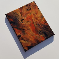 """Red Jasper"" - 20.3 x 25.4cm (8x10"") Wall Art"