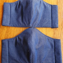 Fabric Facemask - Blue