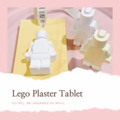 Lego Plaster Tablet / Lego Plaster Car Diffuser / Lego Plaster Air Freshener