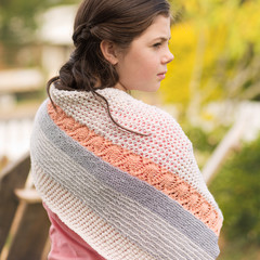 Digital PDF Pattern - Knitted - Cockatoo Mist Shawl
