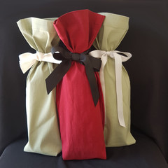 Upcycled Wine Sleeves (bag)