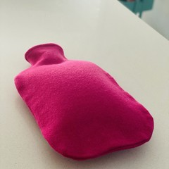 Hot Water Bottle Cover | 100% Wool | Hot Pink