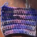 Hand Dyed 4ply Fine Australian Merino Nylon Sock Yarn - Intergelactic