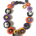 Halloween necklace - Jeepers Creepers