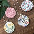Ceramic printed pendants