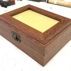 Keepsake | Momento | Wood Box In Silky Oak