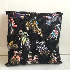 Motorbikes Cushion Cover