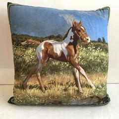 Foal Cushion Cover