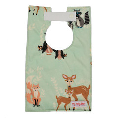 Creatures of the Forest Large Style Bib