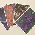 Australian Aboriginal Handmade Card pack - FREE POST