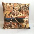Giraffes Cushion Cover