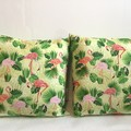Flamingoes Cushion Cover