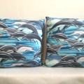 Dolphins Cushion Cover