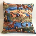 Horses  Cushion Cover