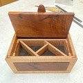 Keepsake | Jewellery | Keepsake | Wood Box In Silky Oak & New Guine Rosewood