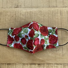 Rose Themed Face Mask