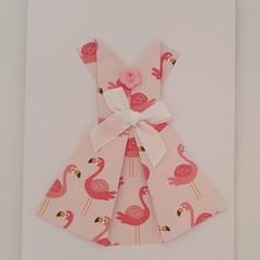 Greeting Card - 'Ladies Dress'
