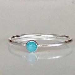 Amazonite stacking ring