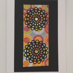 Greeting Card - 'Mandala'.