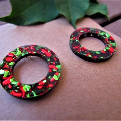Christmas Wreath studs