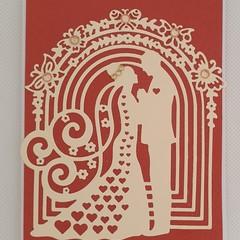 Greeting Card - 'Bridal Couple'