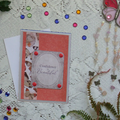 Set of 5 Handmade Notecards - Bella