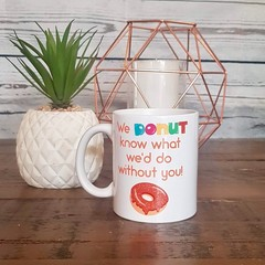 COFFEE MUG | DONUT DESIGN