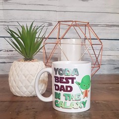 COFFEE MUG | STAR WARS | YODA BEST DAD!