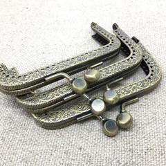Antique style purse clasps (3)