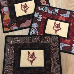 Australiana Placemats - RED DOG