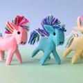 Miniature Felt Pony, felt horse, my little pony, animal softie, stuffed toy