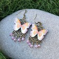 Boho Butterfly earrings (multiple colour options available)