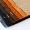 HALF-SIZED 100% PURE WOOL FELT -  felt sheets for sewing craft - 20cm x 15cm