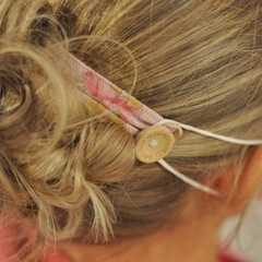 The Vintage Pink Floral Ear Saver for Ear Loop Face Masks