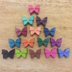 Butterfly crayons