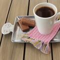 Crochet mug rugs/coasters