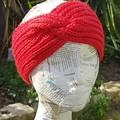 Hand knit ear warmers