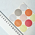 Circle Stickers {45} Seals {30mm} Mixed Pastels | Pastel Envelope Seals | DIY