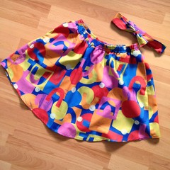 Freya Skirt in Cut and Paste Shapes by Brook Gossen -  XS and L Ready Made