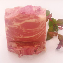 Cranberry Swirl Soap Bar