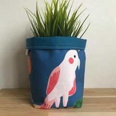 Small fabric planter | Storage basket | GALAH