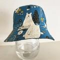 SECONDS- Medium size summer hat in bear fabric