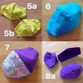 Bright and Pastel Reusable Cotton Face Masks - Ready Made, Non-Medical
